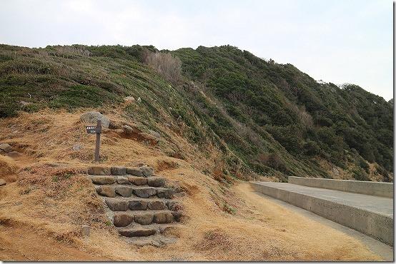 芥屋大門の登山口