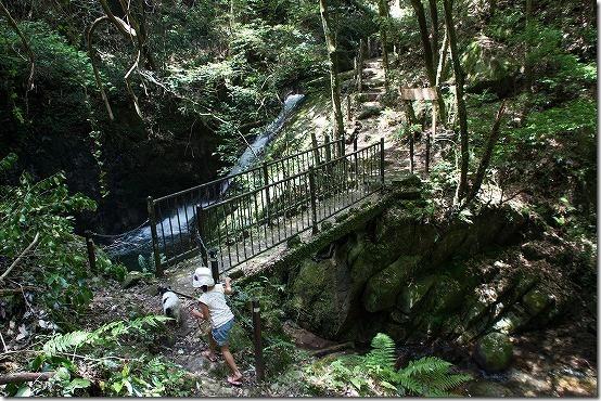 野河内渓谷の滝