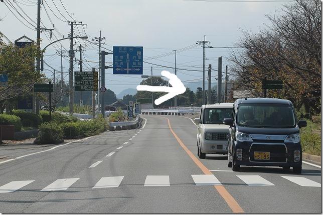 糸島 火山への道 初交差点