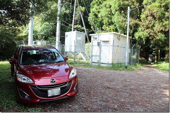 糸島 火山頂上 駐車場