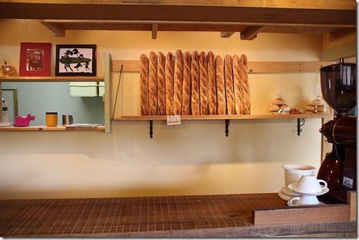 今宿海岸 ヒッポー製パン所の店内