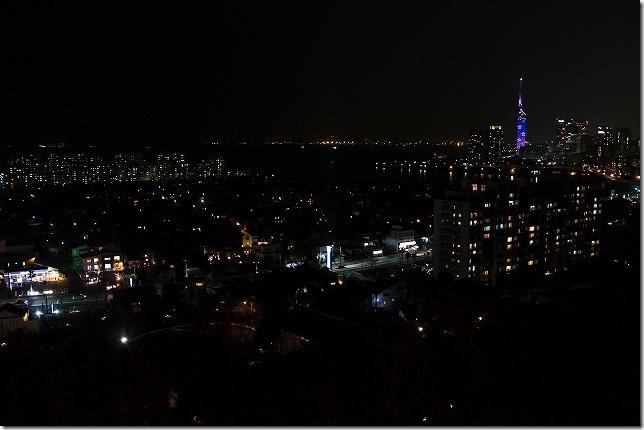 愛宕神社からの夜景