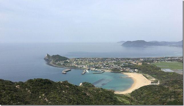 糸島 立石山から芥屋海水浴場