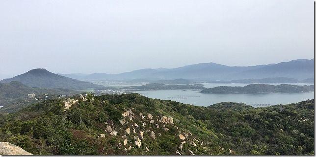 糸島 立石山から糸島富士(可也山)