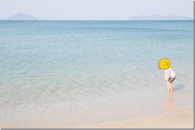 糸島の鳴き砂 姉子の浜
