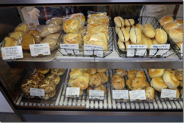 糸島深江にある「SANA」のパンやベーグル