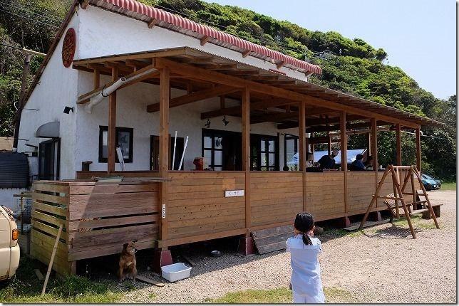 糸島HINODEのテラス