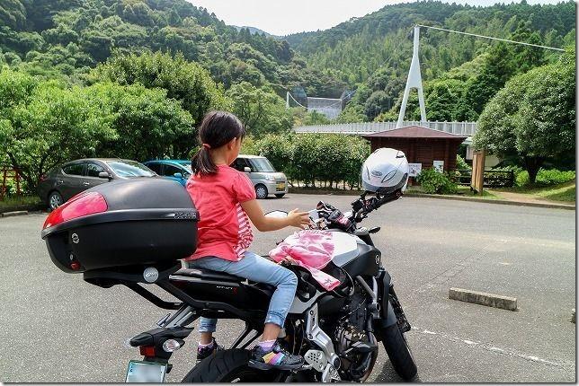 糸島、ゆらりんこ橋へバイクで