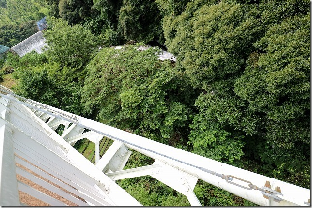糸島、ゆらりんこ橋から二丈渓谷