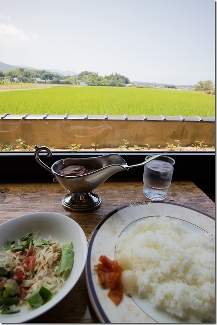 糸島、田園喫茶ワイルドベリーの雷山カレー