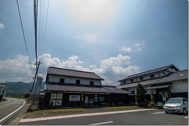 糸島、田園喫茶ワイルドベリーの場所