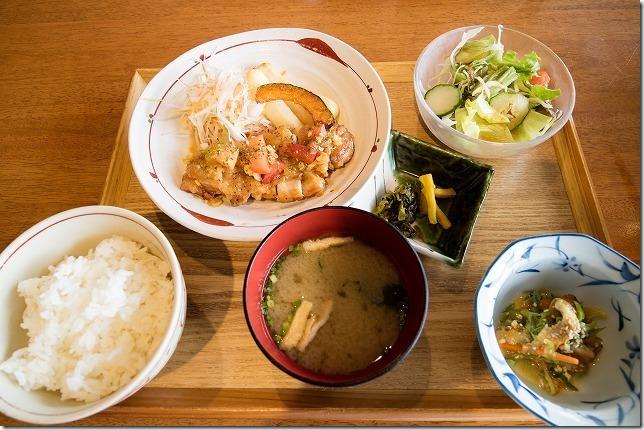 伊都の湯どころの日替わりランチ定食