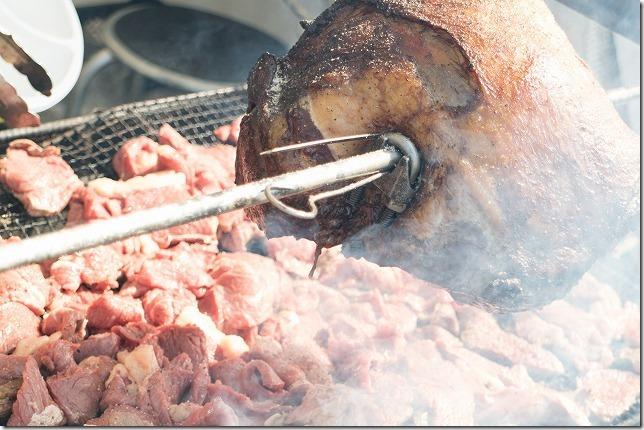 糸島グルメグランプリ物産ブース、肉