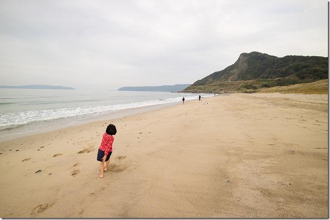 毘沙門山を海から