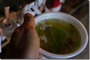 福岡飯盛神社の節分祭の水炊き