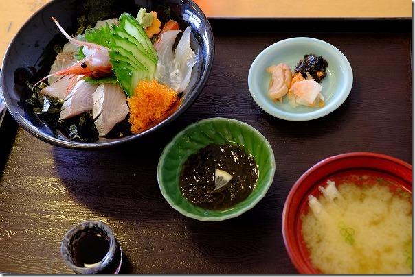 糸島芥屋、磯の家の海鮮丼