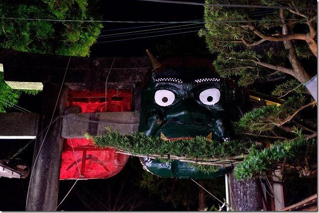 飯盛神社の節分祭 鬼と豆まき(福岡市西区)