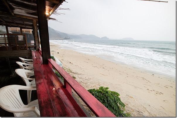 糸島深江タイ料理ドゥワンチャンのテラス席