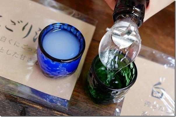 白糸酒造の蔵開き「ハネ木まつり」の無料試飲