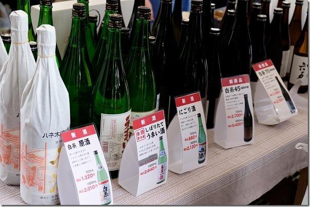 糸島、白糸酒造の日本酒