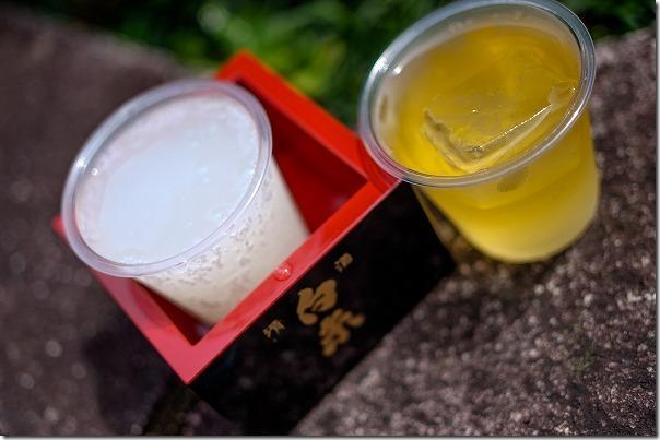 白糸酒造の「濃厚な梅酒」、「65スパークリング」