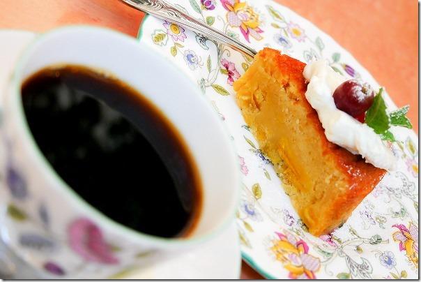 糸島、南蛮茶館のケーキセット