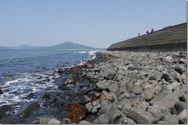 芥屋大門の海岸