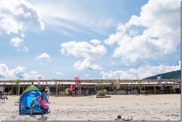 糸島、深江海水浴場、海の家SAIKAI