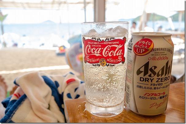 糸島、深江海水浴場、海の家SAIKAIのアルコール