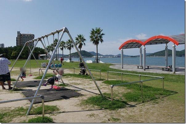 今宿海岸(長垂海浜公園)の遊具