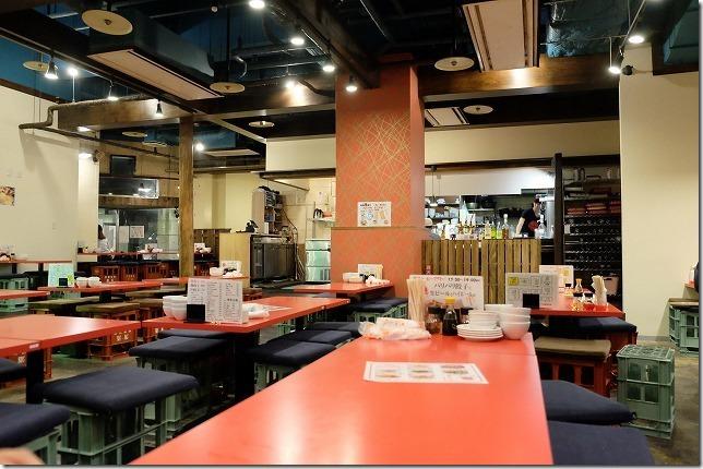 百道、大衆餃子酒場ケンケンの雰囲気