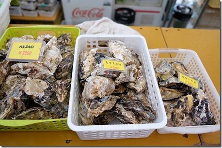 糸島牡蠣小屋、福吉漁港・伸栄丸(佐々木)の牡蠣