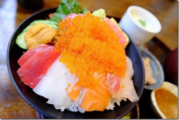 糸島、塚本鮮魚店の極み海鮮丼