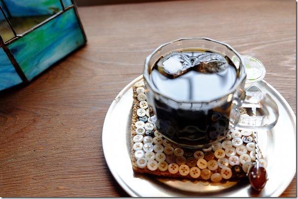糸島カフェ,ハナビ(hanabi)のアイスコーヒー