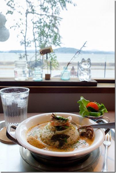 糸島カフェ,ハナビ(hanabi)から海