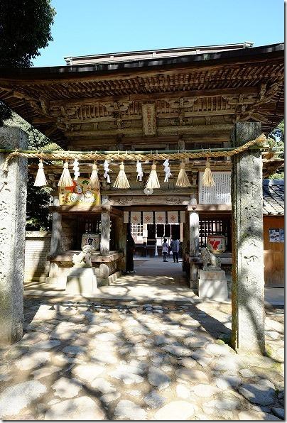 櫻井神社の楼門