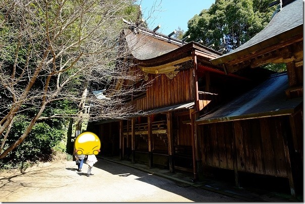 櫻井神社の本殿・岩戸宮
