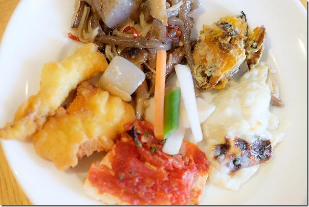 イトリーイト(ITRI ITO)の糸島野菜のビュフェ