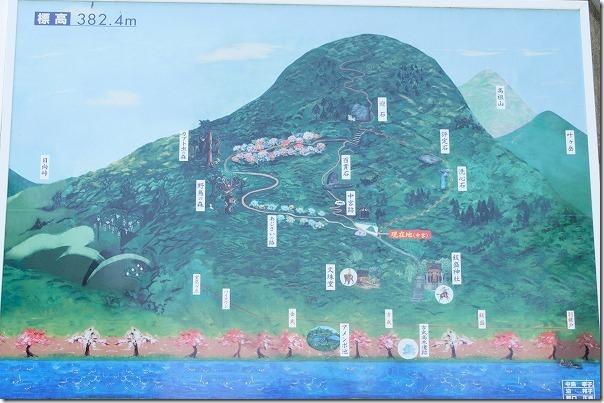 飯盛山の登山路