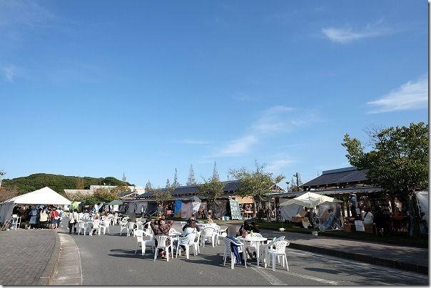 糸島クラフトフェスの体験コーナー
