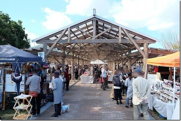 糸島ハンドメイドフェスティバルの様子