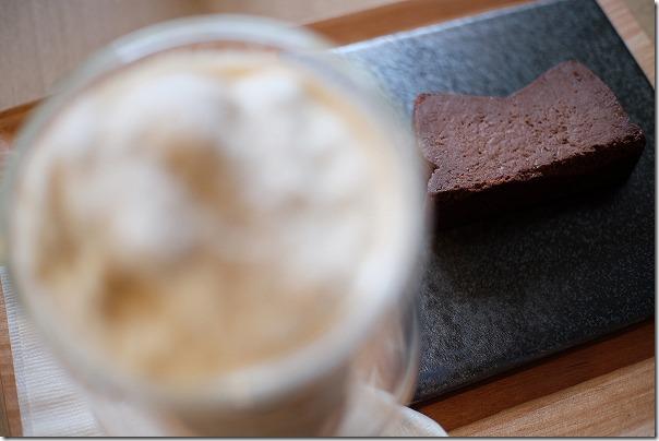 福岡市、西区、COZY,COFFEEのチョコレートチーズケーキ