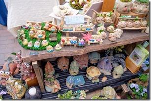 糸島ハンドメイドフェスティバルの粘土の小物