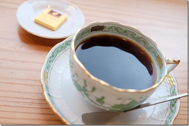 糸島市二丈福井にあるお蕎麦屋さん「すみくら」でコーヒー