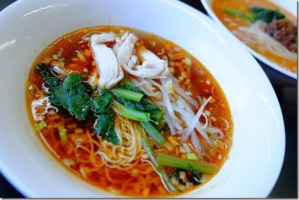 志摩のタンタン麺ハウスのサンラータン麺