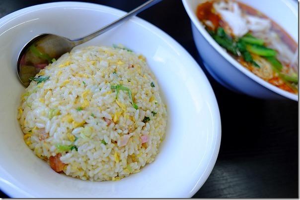 志摩のタンタン麺ハウスのチャーハンセット