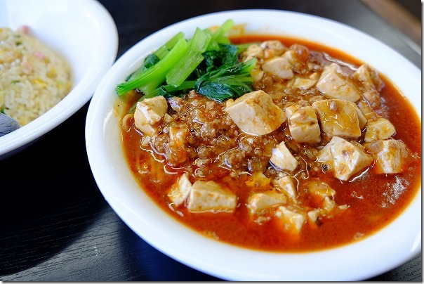 志摩のタンタン麺ハウスのマーボー麺