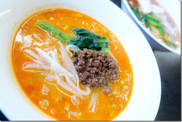 志摩のタンタン麺ハウスの担々麺