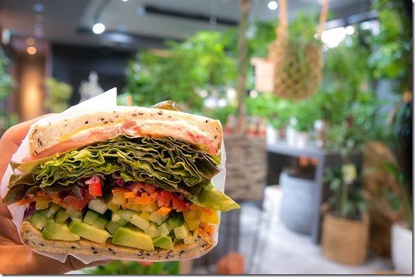 GHB,Fukuoka,Effect(エフェクト)のカフェのサンドイッチ