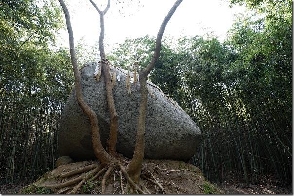 糸島,神在神社の神石(巨石)パワースポット